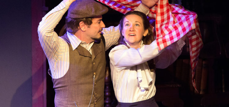 Jennifer Theby-Quinn Radiant in 'Daddy Long Legs' musical at Insight