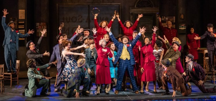 Jaunty and Joyous 'Guys and Dolls' Opens Revitalized Muny's 101st Season