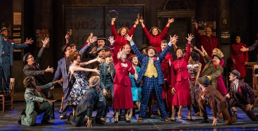 Jaunty and Joyous 'Guys and Dolls' Opens Revitalized Muny's 101st Season
