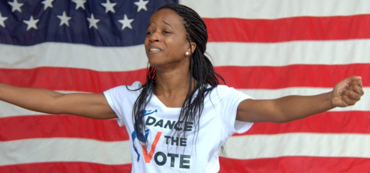 Dance the Vote! Arts Community to Promote Registration, Awareness