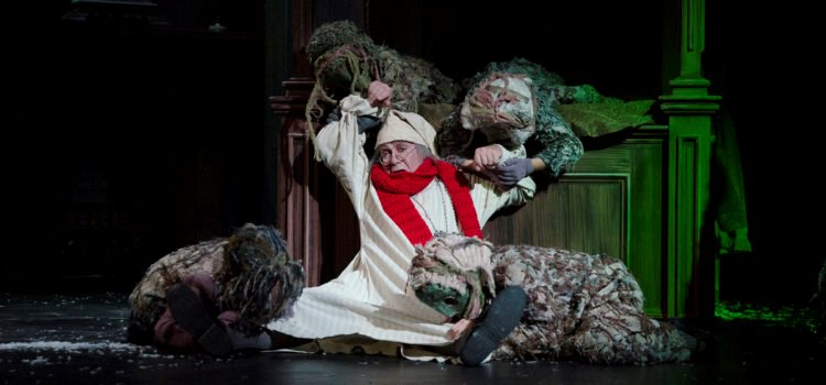 A Kinder, Gentler Scrooge in Nebraska Theatre Caravan's Fox Show