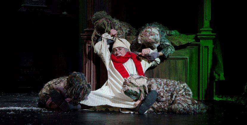 A Kinder, Gentler Scrooge in Nebraska Theatre Caravan's Fox Show