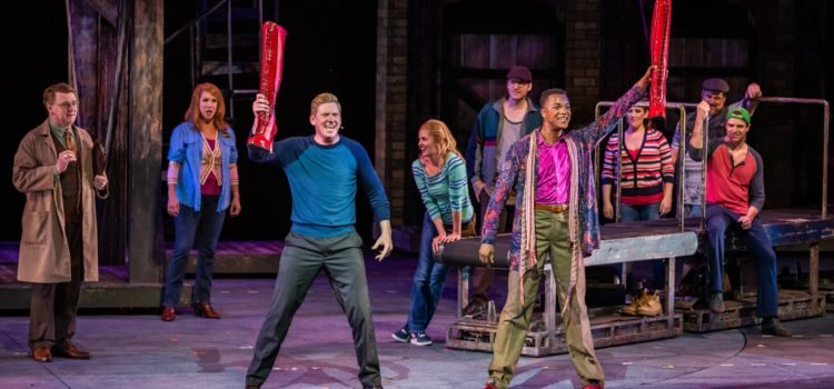 The Muny's Flashy, Fun 'Kinky Boots' Will 'Feed Your Fire'