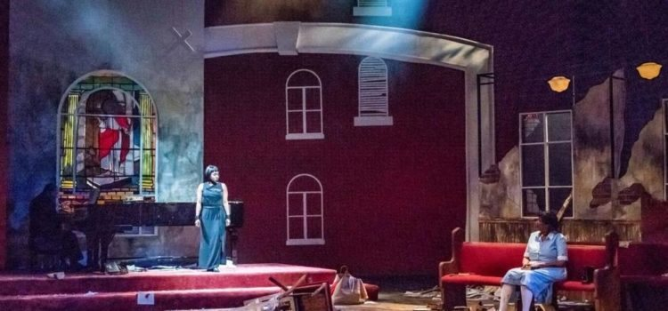 Getting Churched – Black Rep's 'Nina Simone: Four Women' Rages and Praises Its Way Through the Ruins