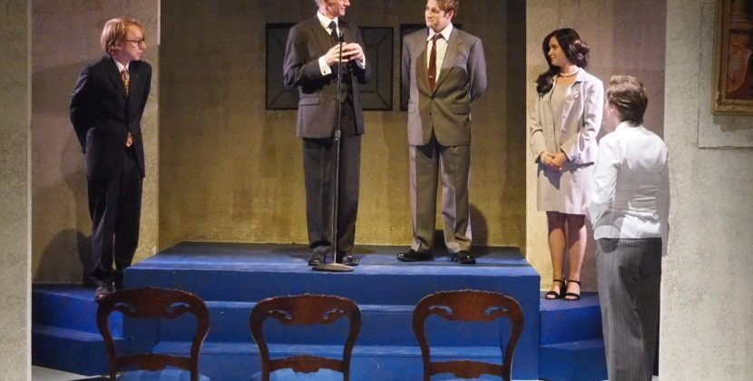A Few Good Performances but Mostly 'King Charles III' is Royal Pain