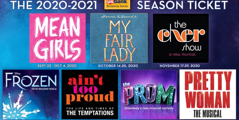 Six Musicals to Make Their Fox Debut in U.S. Bank Broadway Series