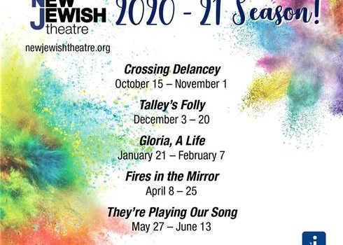 New Jewish Theatre's '20-'21 Season to Examine the Idea of Self