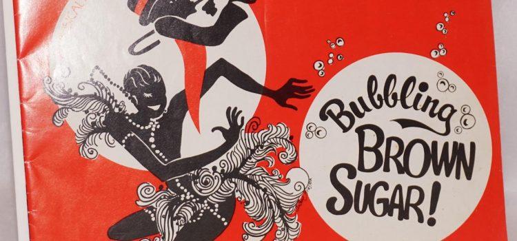 The Black Rep Moves 'Bubbling Brown Sugar' to Next Season