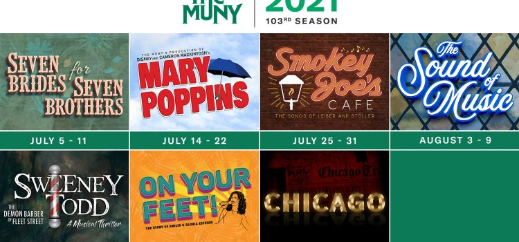 Muny Announces Plans for New Dates and New Show Order for 2021 Season