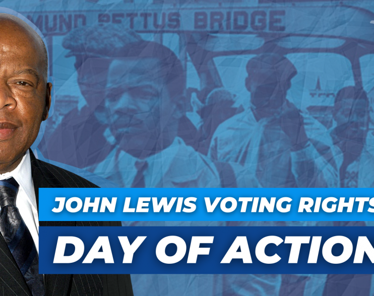John Lewis Multi-Faith Vigil for Democracy on Saturday, July 17