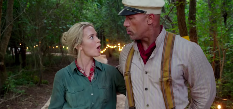 Johnson and Blunt Elevate the Silly Escapist Disney 'Jungle Cruise'
