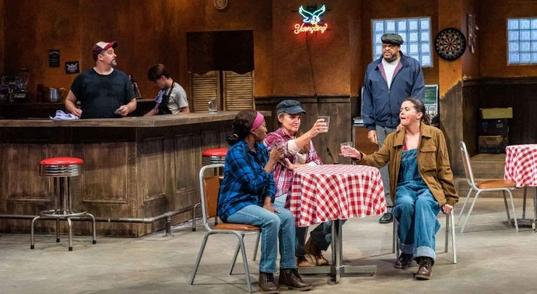 One Of Year's Best Ensembles Hits Hard in Timely 'Sweat' at Black Rep